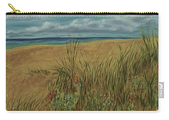 Beach And Clouds Carry-all Pouch