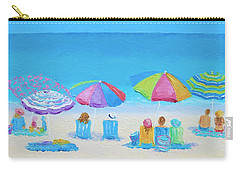 Beach Art - A Golden Day Carry-all Pouch