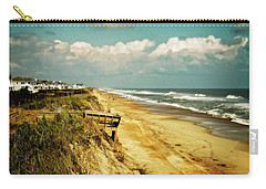 Carry-all Pouch featuring the photograph Beach At Corolla by Christopher Meade