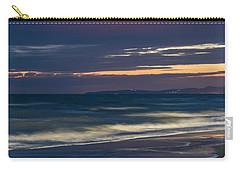 Beach At Night - Spiaggia Di Notte Carry-all Pouch
