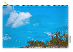 Beach At North Bimini Carry-all Pouch