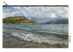 Carry-all Pouch featuring the photograph Beach At St. Kitts by Belinda Greb