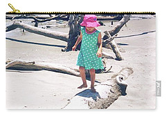 Beach Balancing Act Carry-all Pouch