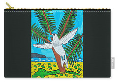 Beach Bird Carry-all Pouch by Artists With Autism Inc