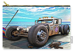 Beach Blanket Rat Rod Carry-all Pouch