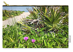 Beach Blooms Carry-all Pouch