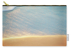 Beach Caress Carry-all Pouch by Glenn Gemmell