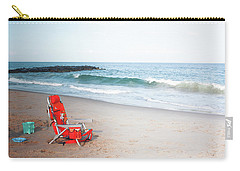 Beach Chair By The Sea Carry-all Pouch