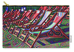 Beach Chairs Carry-all Pouch by Bill Cannon