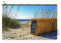 Beach Chairs Carry-all Pouch by Paul Mashburn