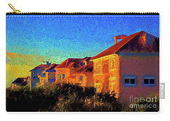 Beach Condos At Sunrise Carry-all Pouch