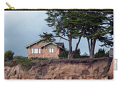 Beach Cottage Carry-all Pouch by Haleh Mahbod