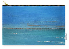 Beach  Evening Carry-all Pouch by Diana Bursztein