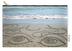 Carry-all Pouch featuring the photograph Beach Eyes by Kim Prowse