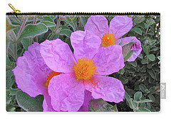 Beach Flower Carry-all Pouch by Arthur Fix