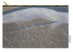 Beach Foam Carry-all Pouch by Margaret Brooks