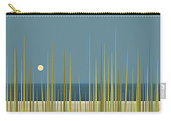 Beach Grass And Blue Sky Carry-all Pouch