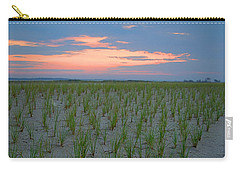 Carry-all Pouch featuring the photograph Beach Grass Farm by  Newwwman