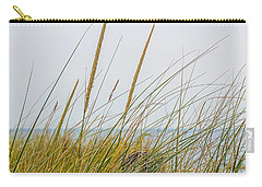 Carry-all Pouch featuring the photograph Beach Grass by Kendall McKernon