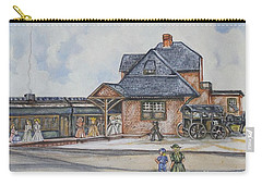 Beach Haven Railroad Station Carry-all Pouch