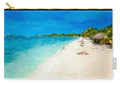 Beach Holiday  Carry-all Pouch by Anthony Fishburne