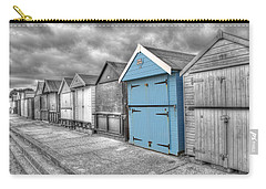 Beach Hut In Isolation Carry-all Pouch