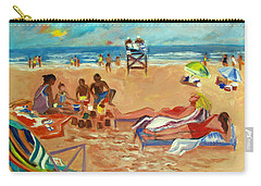 Beach In August Carry-all Pouch