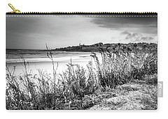 Carry-all Pouch featuring the photograph Beach In Ogunquit by Doug Camara