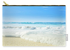 Carry-all Pouch featuring the photograph Beach Love Summer Sanctuary by Sharon Mau