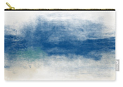 Beach Mood- Abstract Art By Linda Woods Carry-all Pouch