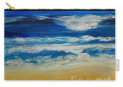 Beach Ocean Sky Carry-all Pouch