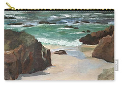 Beach Of Asilamor Carry-all Pouch
