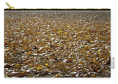 Beach Of Autumn Leaves Carry-all Pouch