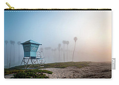 Carry-all Pouch featuring the photograph Beach Office by Sean Foster