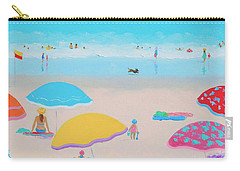 Beach Painting - Ah Summer Days Carry-all Pouch