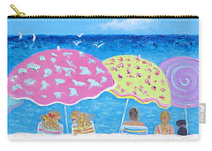 Beach Painting - Lazy Summer Days Carry-all Pouch
