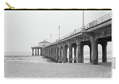 Beach Pier Film Frame Carry-all Pouch