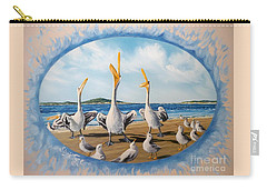 Flying Lamb Productions            Pelicans   Beach Platoon Carry-all Pouch
