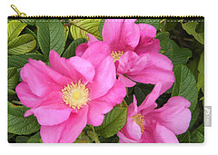 Beach Roses Carry-all Pouch