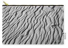 Beach Sand Mantle In Monochrome Carry-all Pouch