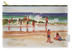 Beach Scene, Afternoon Carry-all Pouch