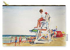 Beach Scene, Cape Cod Carry-all Pouch
