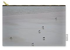 Beach Seagulls Carry-all Pouch