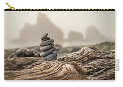 Beach Stack Carry-all Pouch by Kristopher Schoenleber