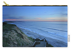 Beach Stairs At Dusk Carry-all Pouch