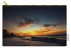 Beach Sunrise Carry-all Pouch