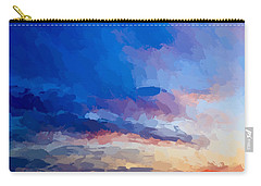 Beach Sunset Carry-all Pouch by Anthony Fishburne