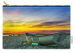 Beach Sunset In Cape May Carry-all Pouch