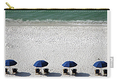 Carry-all Pouch featuring the photograph Beach Therapy 2 by Marie Hicks