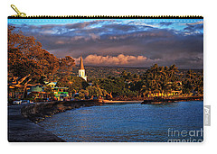 Beach Town Of Kailua-kona On The Big Island Of Hawaii Carry-all Pouch